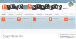 Frontpage of Picto Selector